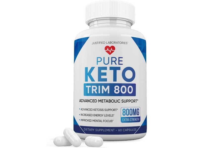 Pure Keto Trim 800 Advanced BHB Ketogenic Supplement
