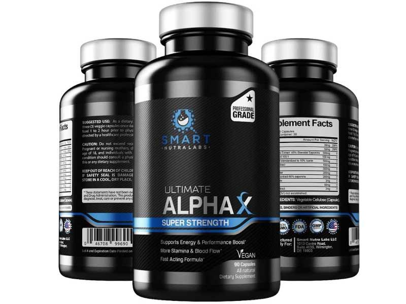 Ultimate AlphaX Male Enhancing Pills
