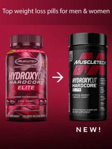Hydroxycut hardcore elite Top weight loss pills for men & women